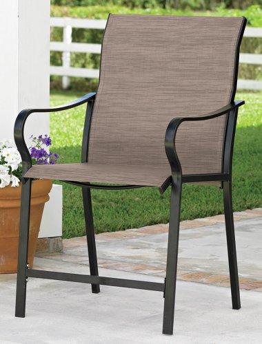Extra-Wide High-Back Patio Chair (Khaki) & Amazon.com : Extra-Wide High-Back Patio Chair (Khaki) : Folding ...
