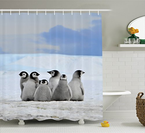 Awesome Penguin Shower Curtains