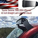 led bar brackets tacoma - 1995 2004 Toyota Tacoma 42 inch Straight or Curved Led Light Bar mounting Bracket