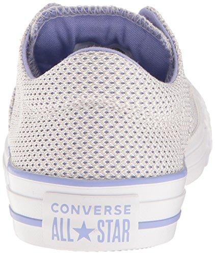 Converse Femmes Mesh Pop Couleur Madison Bas Chaussure Haut Blanc / Souris / Impulsion Crépusculaire