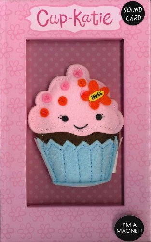 Cupcake Magnet And Sound Birthday Card Amazon Kitchen Home