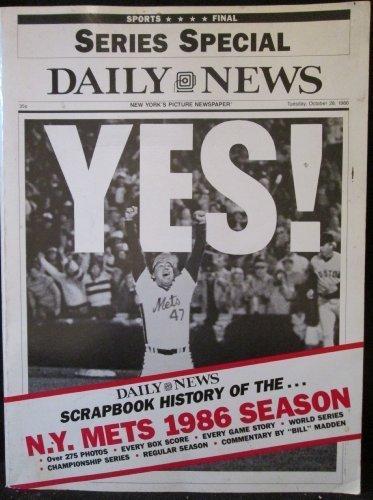 Scrapbook History Of The N.Y. Mets 1986 Season]()