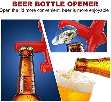 Abridores de Botellas Regalos de Novedad para Hombres, Fairmy ODD 3 Pack Bottle Open Button Tapother Tapón de Vino Sacacorchos Bebidas Apreter Saver Fiesta Regalos de cumpleaños