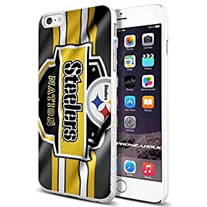 NFL Pittsburgh Steelers Nation , Cool Case Cover For LG G3 Smartphone Collector iphone PC Hard Case White [By PhoneAholic]