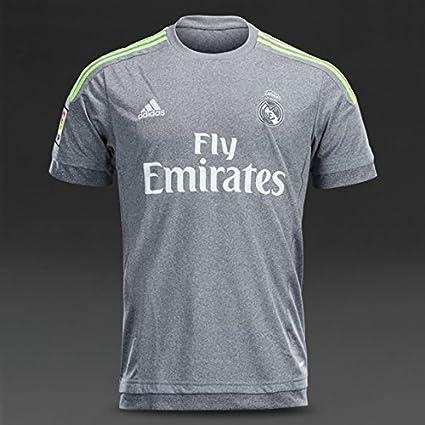 new products be7aa 516d1 Amazon.com : Real Madrid #7 Ronaldo Gray Jersey Pumas ...