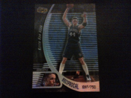 (1998-1999 NBA Basketball Keith Van Horn Ionix Card Reciprocal Card Limited 697/750! #R40 New Jersey Nets, Philadelphia 76ers, New York Knicks, Dallas Mavericks, Milwaukee Bucks)