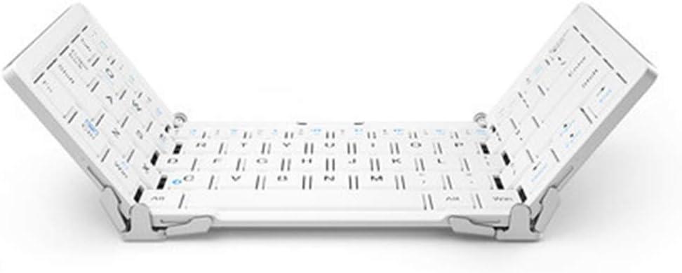 XJRHB Tres Teclado Plegable Teclado inalámbrico Bluetooth ...