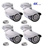 Q-See 4K (8MP) 4-pack QT-IP Camera IP Ultra-HD with H.265 (4x QTN8086BA) Review