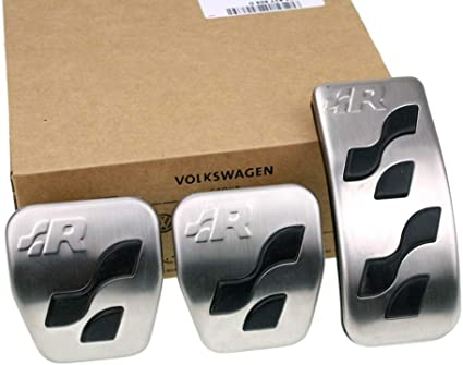 Original Volkswagen Piezas VW R-Line R32 Pedal caps Kit (Golf IV ...