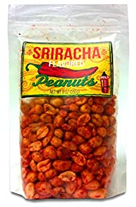 Sriracha Flavored Peanuts, 9 Oz Bag