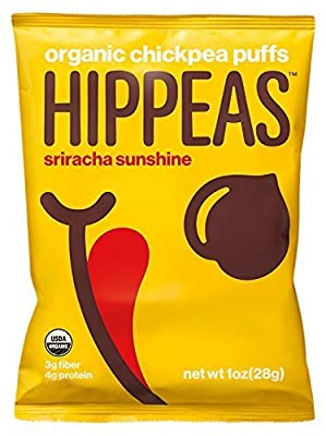 Hippeas Organic Chickpea Puffs, Sriracha Sunshine, 1 oz., 24 Count from Wyandot Inc