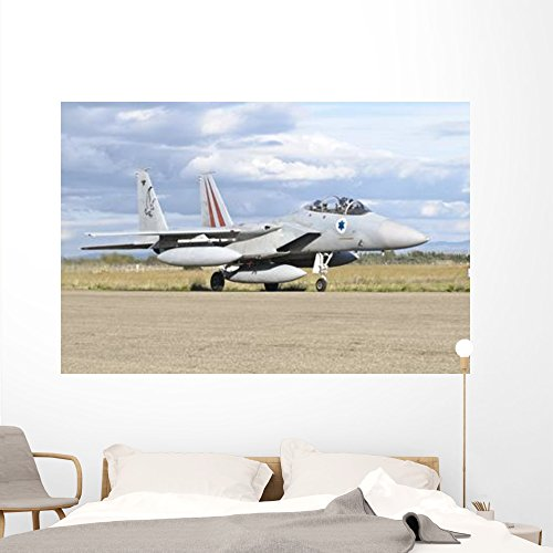 F-15d Eagle - F-15d Baz Israeli Air Wall Mural by Wallmonkeys Peel and Stick Graphic (72 in W x 48 in H) WM63152