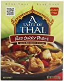 A Taste of Thai Red Curry Paste, 1.75-Ounce Packets (Pack of 12)
