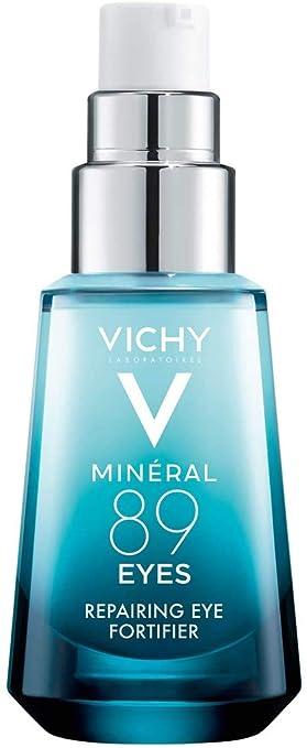 Vichy Mineral 89 Ojos Suero Con Cafeína Y ácido Hialurónico Gel De Crema Para Ojos Ligero Para Suavizar Las Líneas Finas E Hidratar La Zona De Los Ojos Adecuado Para Piel