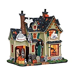 Lemax Spooky Town Scariest Halloween House # 25330