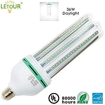 Letour 36w Led Light Corn Light Bulb 3500 Lumen 184leds Smd2835