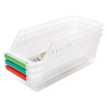 Deanyi 3 PCS plástico Durable despensa de la Cocina del ...