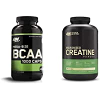 Optimum Nutrition Instantized BCAA Capsules, Keto Friendly Branched Chain Essential Amino Acids (400 Count) with…