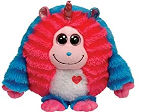 Ty Monstaz 37513 Soft Toy Delilah Monster Large Blue / Pink