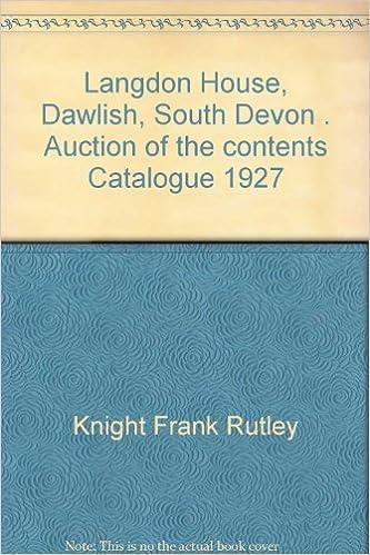 Langdon House, Dawlish, South Devon   Auction of the House