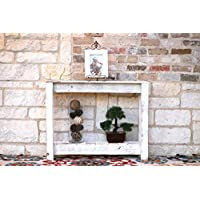 36 White Console Table