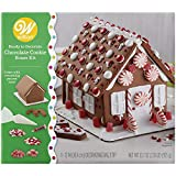Wilton 2104-6868 Ready House Decorating Kit Chocolate, Cookie, Assorted