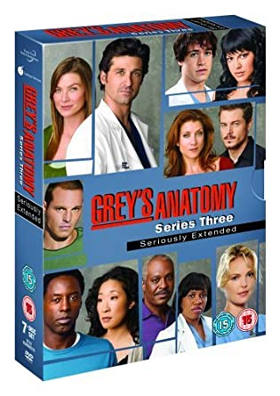 Amazon.com: Grey\'s Anatomy: Series 3 [Region 2]: Movies & TV