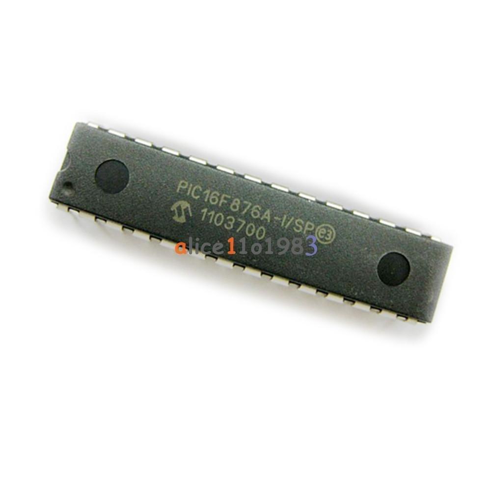 5PCS MCU IC MICROCHIP DIP-28 PIC16F876A-I//SP PIC16F876A-I//P PIC16F876A