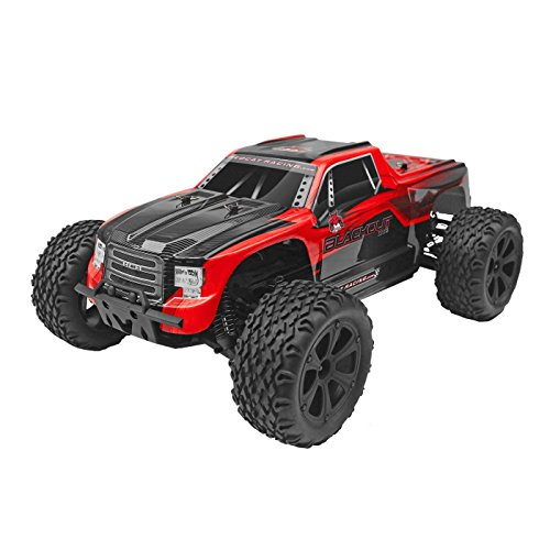 - Redcat Racing Blackout XTE 1/10 Scale Electric Monster Truck with Waterproof Electronics, Red