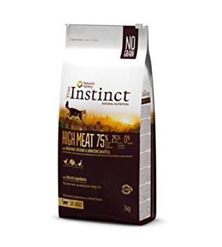 True Instinct - True Instinct Cat High Meat con Pollo - 1943 - 1 Kg.: Amazon.es: Productos para mascotas