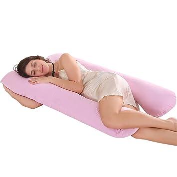 Oversized U Shape Pillow Nursing Pregnancy Maternity Boyfriend Full Support Body