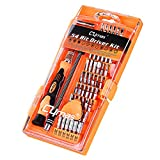 Cymas Screwdriver Set, Magnetic Driver Kits 58 in 1 with 54 Bits, Electronic Repair Tool Kit for PC