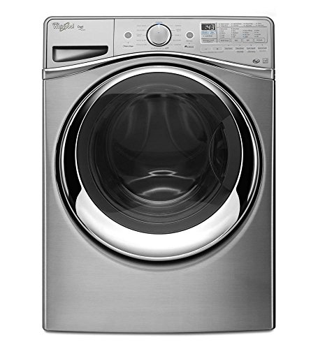Whirlpool WFW97HEDU Duet 4.5 Cu. Ft. Dimond Steel Stackable With Steam Cycle Front Load Washer - Energy - Dimond Center