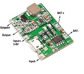 Cargador de batería de Ion de Litio 18650 de Nik para 3,7 V ...
