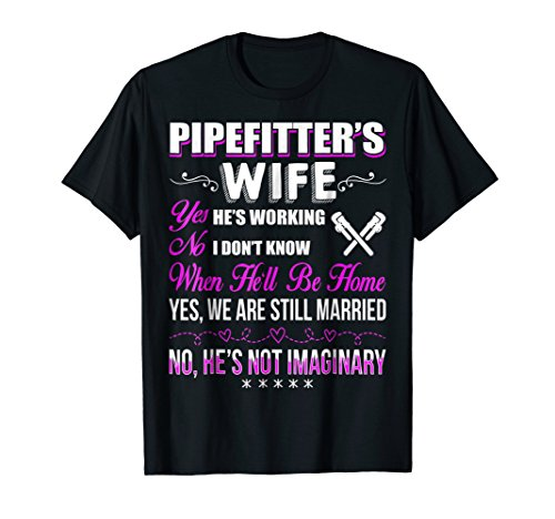 Price comparison product image Pipefitter T-Shirt Pipefitter Wife Shirt