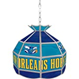 NBA New Orleans Hornets 16-Inch Tiffany Lamp