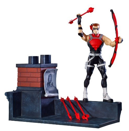 Young Justice (animation 2011) 6 Inch Action Figure / Red (Red Arrow Young Justice)