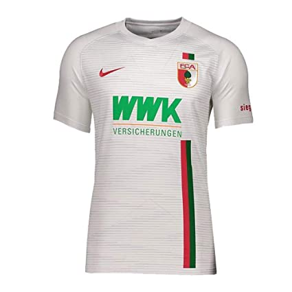 Amazon.com   Nike FC Augsburg Home Jersey 2018 2019   Sports   Outdoors 2242b5a0b