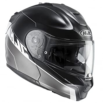 HJC casco de moto Rpha max evo zoomwalt mc5sf, Negro, talla L
