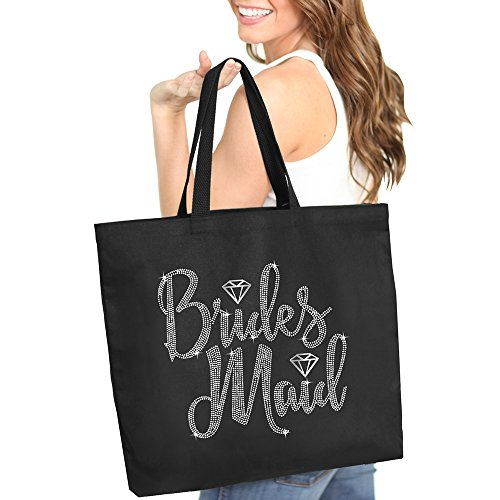 Bridesmaid Diamond Rhinestone Tote Bag - Bridal Shower