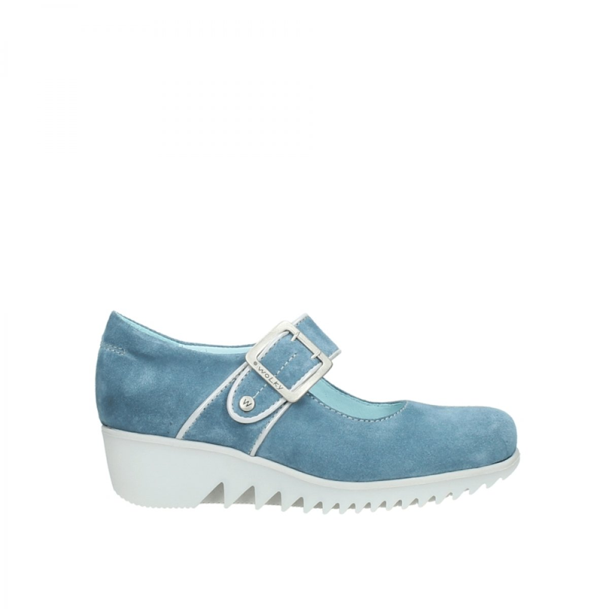 Wolky Comfort Mary Janes Silky B01E10FYDW 42 M EU|40820 Denim Suede