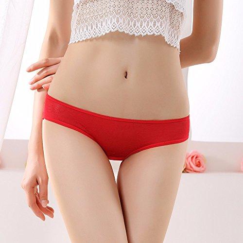 Bustiers, Sra. Ruth comparte la Sra. underwear nosotros y tentación lace pantalones triangular grabado terraza pp, Rojo