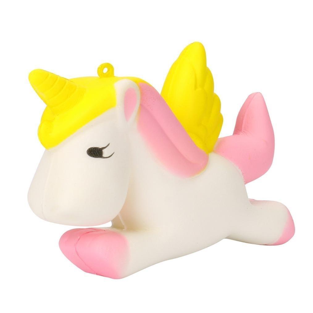 ZK.nesi Squishy Pegasus Unicorn a rimbalzo lento 1