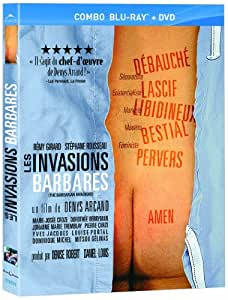 The Barbarian Invasions (Les Invasions Barbares) [Blu-ray + DVD] (English & French Subtitles) (Version française)