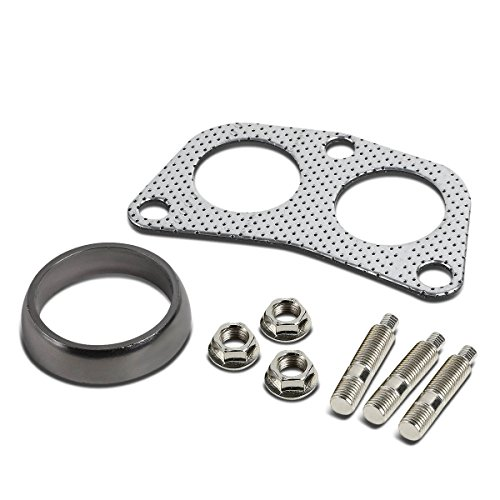 Infinity G20 Set - DNA Motoring GKT-A-2-DP-DNT-GPT-KIT Graphite Aluminum Gasket Plus Donut, Studs, Bolts Kit