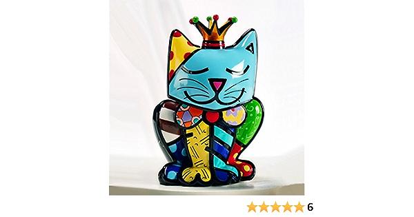 La Cat Goebel Figurine Cat Cool Cat Chat POPART 66450867 Romero Britto Selfie