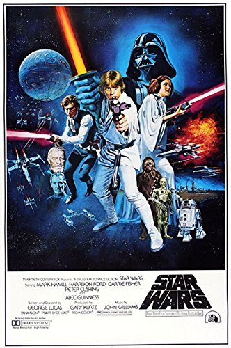 STAR WARS - EPISODE IV A NEW HOPE STYLE C MOVIE POSTER