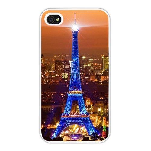 Cocoz®design Series Paris Night View Eiffel Tower Image(white