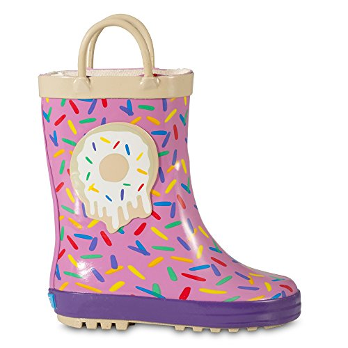 ZOOGS Children's Rubber Rain Boots, Little Kids & Toddler, Boys & Girls Patterns by ZOOGS (Image #1)