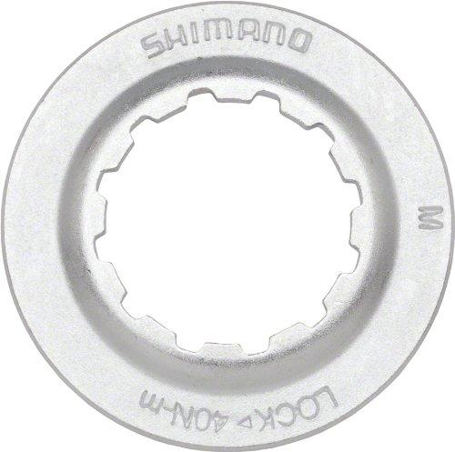 - Shimano Centerlock Rotor Lockring Silver/Steel